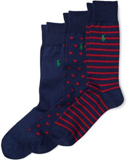 Trouser Sock 3-piece Gift Set