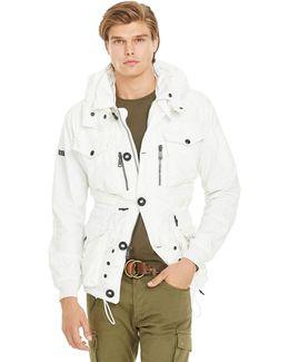 Twill Hooded Utility Jacket