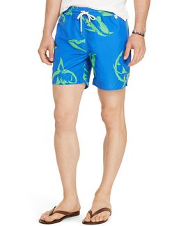 Traveler Shark Swim Trunks