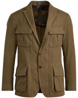 Morgan Cotton Gabardine Jacket