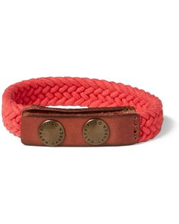 Braided Cotton Wrist Strap