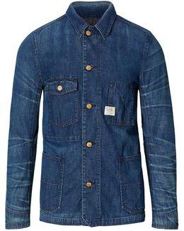 Indigo Denim Chore Jacket