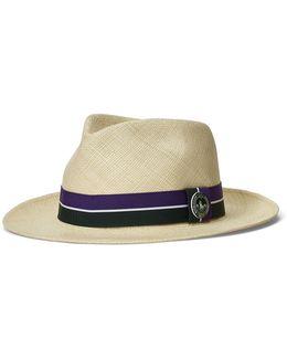 Wimbledon Straw Panama Hat