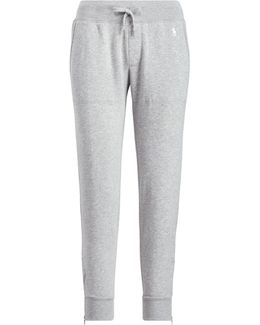 Zip-cuff Fleece Jogger Pant