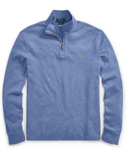 Estate Rib Half-zip Pullover