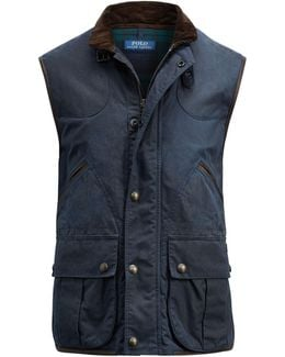 The Iconic Oilcloth Vest
