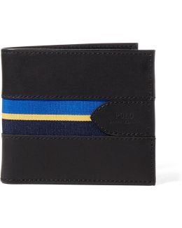 Grosgrain Striped Billfold Wallet