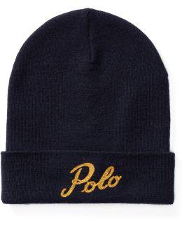 Polo Merino Wool Beanie