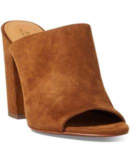Kinley Suede Mule Sandal
