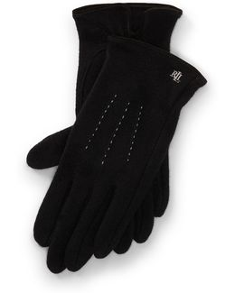Lambswool-blend Tech Gloves