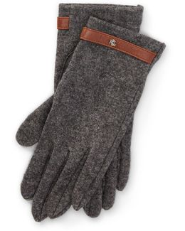 Belted Touch Screen Gloves