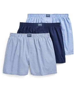 Classic Cotton Boxers (pack Of 3)