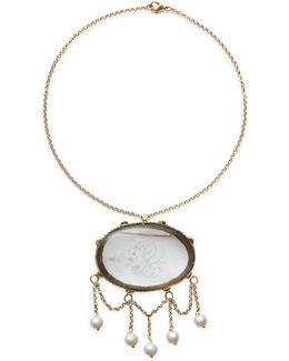 Brooch-pendant Necklace