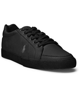 Hugh Leather Sneaker