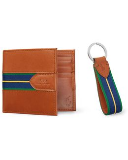Wallet & Key Fob Gift Set