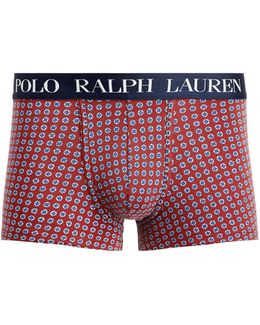 Classic Patterned Jersey Trunk