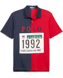 Classic Fit Stadium Polo Shirt
