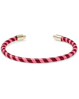Candy Striped Thread Wrapped Cuff
