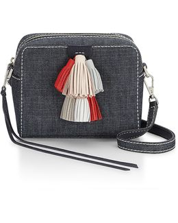 Mini Sofia Denim Crossbody Bag