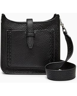 Mini Unlined Feed Bag Whipstitch