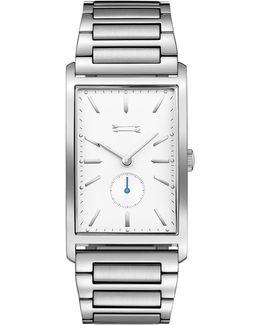 Pesaro Silver Tone Bracelet Watch, 27mm X 45.5mm
