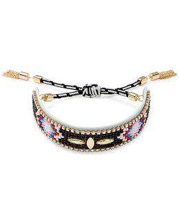 Sparkler Seed Bead Friendship Bracelet