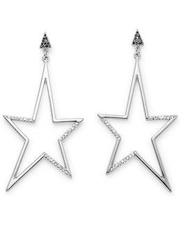 Stargazing Drama Star Statement Earring