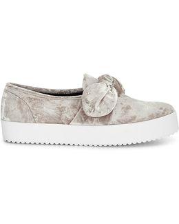 Velvet Stacey Sneaker