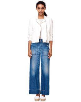 Slub Suiting Zip Jacket