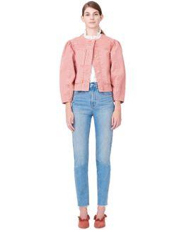 La Vie Garment-dyed Twill Jacket