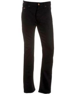 Jeans, Black Regular Fit Jean