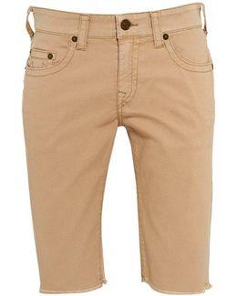Regular Fit 'ricky' Beige Shorts