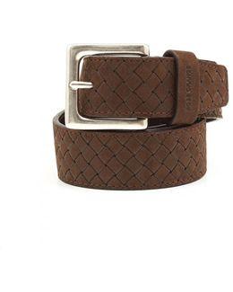 Jemmino_sz35_wnem Braided Choco Belt