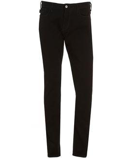 J06 Jean, Black Slim Fit Denim