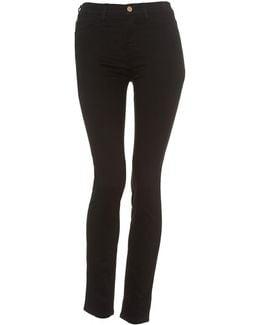 J20 Black Super Stretch Skinny High Rise Jeans