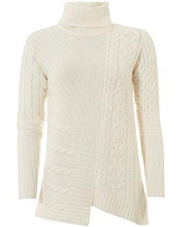 International Mondello Jumper, Roll Collar Cloud Sweater