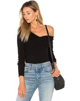 Asymmetric One Shoulder Sweater