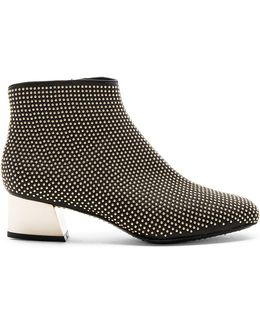 Paxton Gold Studded Bootie