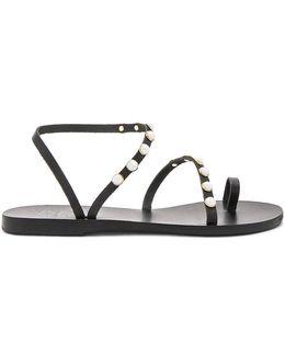 Apli Leather Elefthera Pearls Sandal