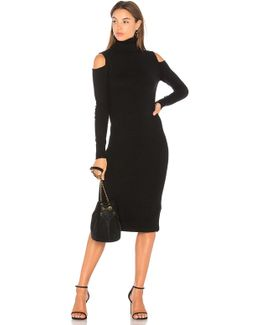 Cold Shoulder Body Con Dress