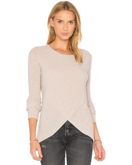 Reversible Crossover Sweater