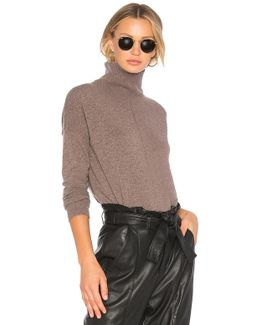 Relaxed Hi Lo Sweater