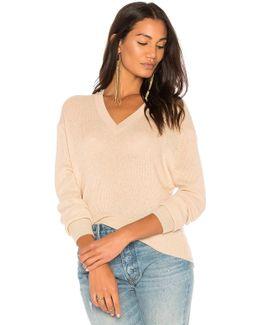 Ribbed Hi Lo Sweater