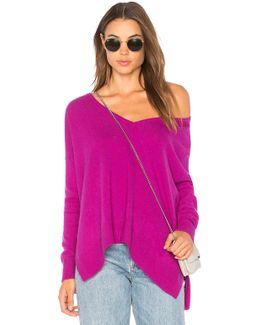Relaxed V Neck Sweater