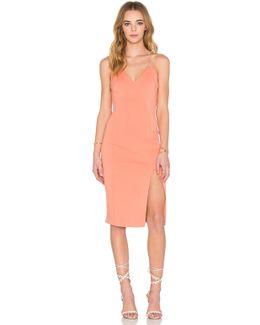 Cotton-Blend Camisole Dress