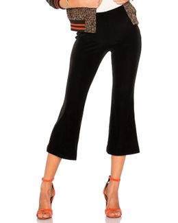 Prince Will Come Velvet Flare Pant