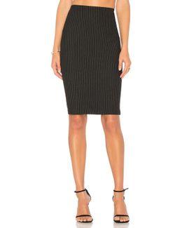 Striped Resplendent Pencil Skirt