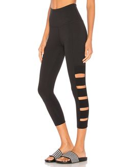 Wide Band Stacked Legging