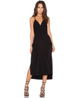 Crossover Midi Dress