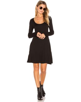 Casual Fit & Flare Dress